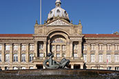 Council House & River Statue, Birmingham
