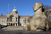 Council House And Guardian Statue, Birmingham