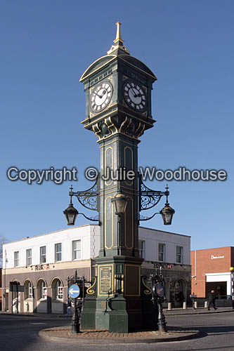 photo showing Chamberlain Clock,  Jewellery Quarter, Birmingham