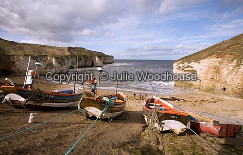 photo showing North Landing, Flamborough Near Bridlington, East Yorkshire