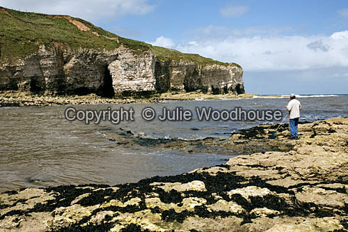 photo showing North Landing, Flamborough, East Yorkshire