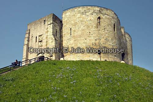 photo showing Cliffords Tower, York