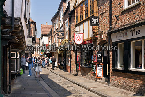 photo showing The Shambles, York