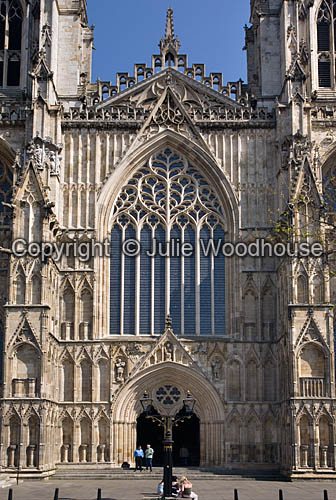 photo showing York Minster, York