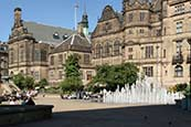 Thumbnail image of Town Hall and Peace Gardens, Sheffield