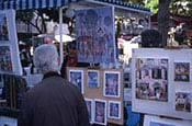 Montmartre, Artists At Place Du Tertre, Paris