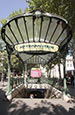 Abbesses Metro Entrance, Montmartre, Paris