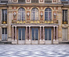 Versaille Palace,  Marble Courtyard, Paris