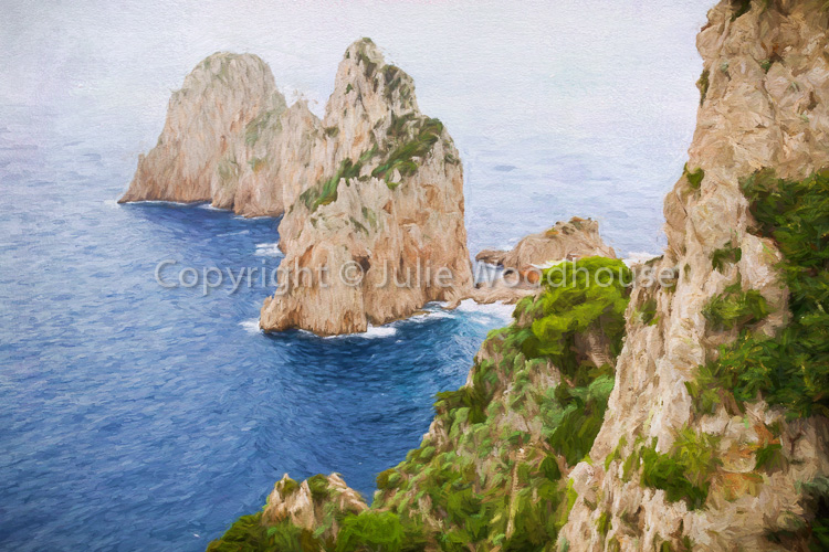 photo showing Faraglioni Rocks, Capri, Campania, Italy