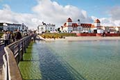 Thumbnail image of Binz pier and seafront, Ruegen, Mecklenburg Vorpommern, Germany