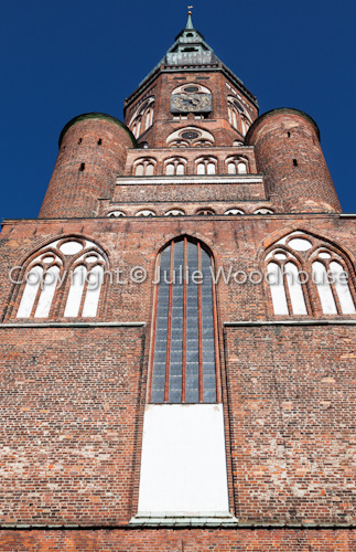 photo showing St Nicholas' Cathedral, Greifswald, Mecklenburg Vorpommern, Germany