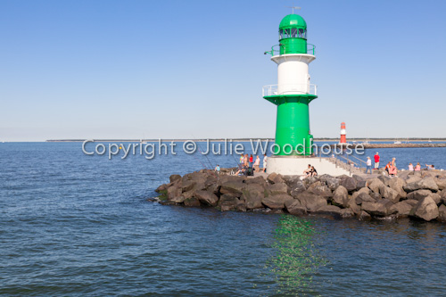 photo showing Lighthouses, Warnemuende, Mecklenburg Vorpommern, Germany