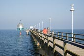 Thumbnail image of Pier and diving gondola, Zinnowitz, Mecklenburg Vormpommern, Germany