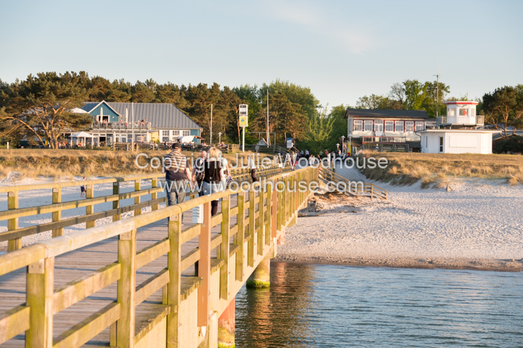photo showing Pier In Prerow, Baltic Sea, Darss, Mecklenburg-Vorpommern, Germany
