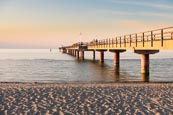 Thumbnail image of Pier and beach in Prerow, Baltic Sea, Darss, Mecklenburg-Vorpommern, Germany