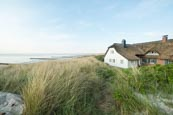 Thatched Cottage By The Sea At Ahrenshoop, Mecklenburg-Vorpommern, Germany