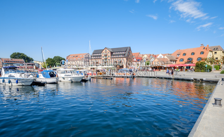 photo showing Harbour With The Town Behind, Waren, Mecklenburg-Vorpommern, Germany