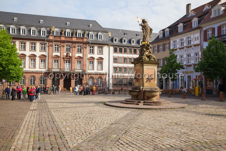 photo showing Kornmarkt, Heidelberg, Baden-Württemberg, Germany