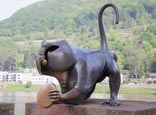 Bridge Monkey, Heidelberg, Baden-Württemberg, Germany