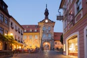 Thumbnail image of Old Town Hall, the Obere Bridge and Karolinenstrasse, Bamberg, Bavaria, Germany