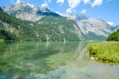 Königssee Viewed From The Top Of The Lake At Salet, Upper Bavaria, Bavaria, Germany, Europe