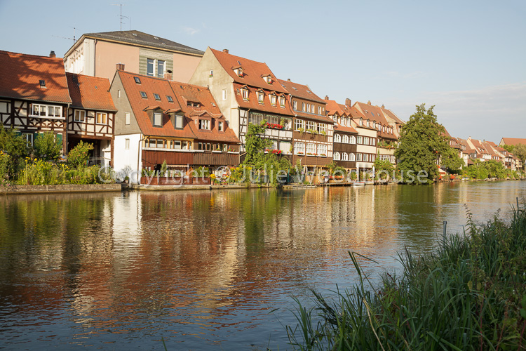 photo showing Little Venice, Former Fishermans District On The Regnitz River, Bamberg, Bavaria, Germany
