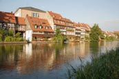Thumbnail image of Little Venice, former fishermans district on the Regnitz River, Bamberg, Bavaria, Germany