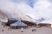 Thumbnail image of Gletschergarten restaurant and the summit station of the train, Zugspitze, Bavaria, Germany