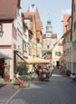 Thumbnail image of Hafengasse with the Markus Tower, Rothenburg ob der Tauber, Franconia, Bavaria, Germany