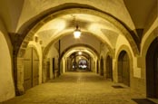 Thumbnail image of passage behind the Town Hall, Rothenburg ob der Tauber, Franconia, Bavaria, Germany