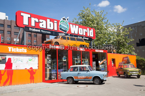 photo showing Trabi World, Trabant Museum, Berlin, Germany