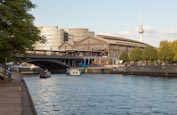 Thumbnail image of River Spree and Friedrichstrasse Station, Berlin, Germany