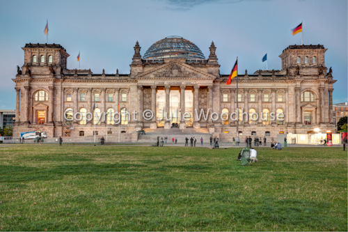 photo showing Reichstag, Berlin, Germany