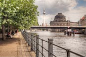 Thumbnail image of River Spree with Bode Museum, Berlin, Germany