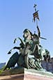 Thumbnail image of Saint George and the dragon statue, Nikolaiviertel, Berlin, Germany