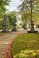 Tempelgarten With The Musentempel And Baroque Statues, Neuruppin, Brandenburg, Germany
