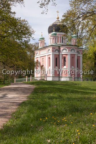 photo showing Alexander Nevsky Memorial Church, Potsdam, Brandenburg, Germany