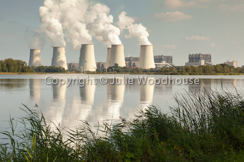 photo showing Jaenschwalde Power Station, Brandenburg, Germany