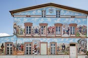 Thumbnail image of Historical Mural at the train station, Bad Wilsnack, Prignitz, Brandenburg, Germany