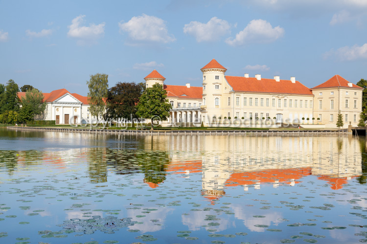 photo showing Schloss Rheinsberg, Ostprignitz-Ruppin, Brandenburg, Germany