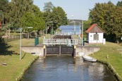 Thumbnail image of Canal Locks at Himmelpfort, Brandenburg, Germany