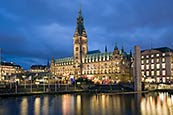 Thumbnail image of Rathaus and Rathausmarkt, Hamburg, Germany