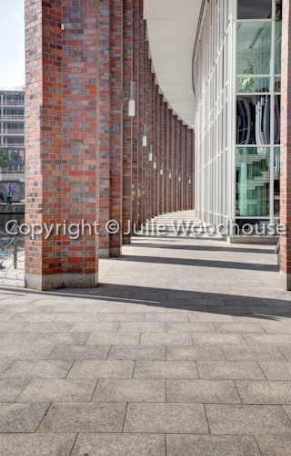 photo showing Passageway By Alsterfleet, Hamburg, Germany