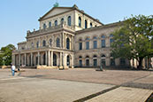 Opera House, Hannover, Lower Saxony, Germany