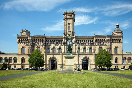 photo showing Guelph Palace – Leibniz University, Hannover, Lower Saxony, Germany