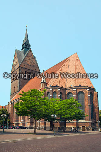 photo showing Marktkirche, Hannover, Lower Saxony, Germany