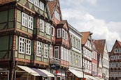 Thumbnail image of timber frame buildings on the Markt, Celle, Lower Saxony, Germany