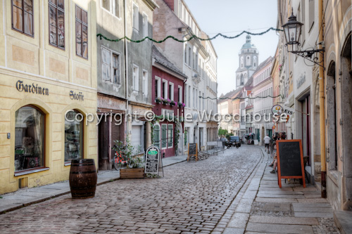 photo showing Burgstrasse, Altstadt, Meissen, Saxony, Germany