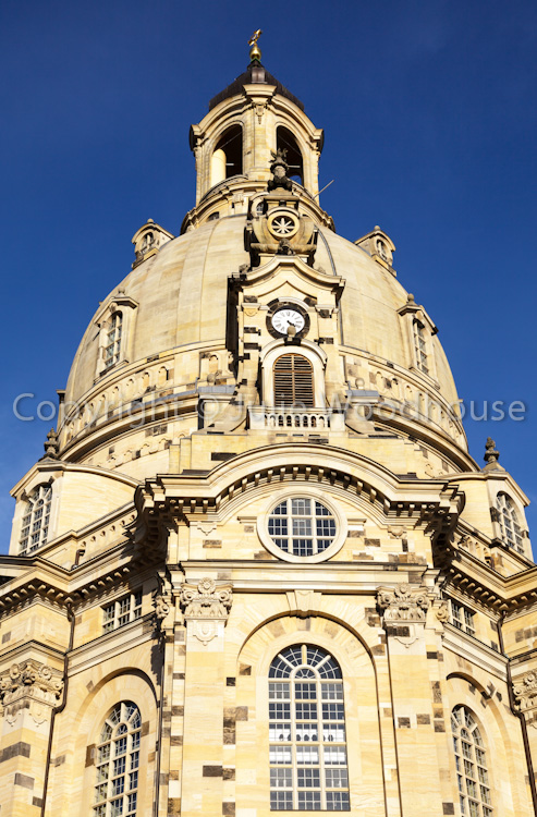 photo showing Frauenkirche, Dresden, Saxony, Germany