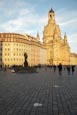 Thumbnail image of An der Frauenkirche square with Frauenkirche  and old buildings, Dresden, Saxony, Germany